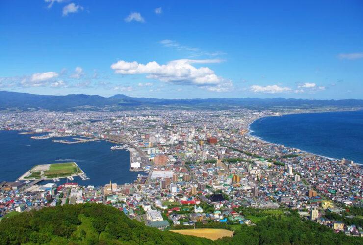 函館山より望む函館市街