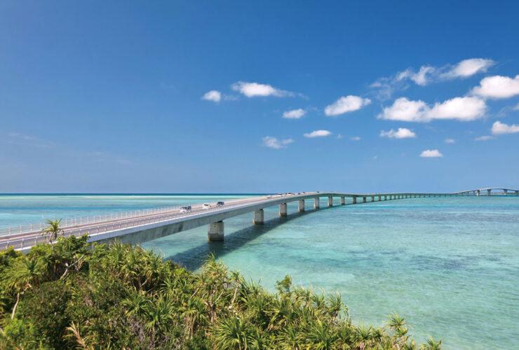 宮古島と伊良部島をつなぐ 全長3,540mの夢の大橋