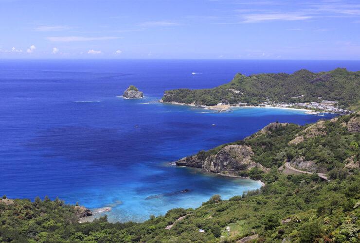 父島の風景