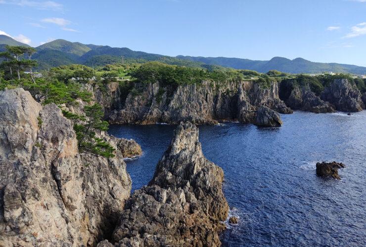 「尖閣湾」の第5景「揚島峡湾」