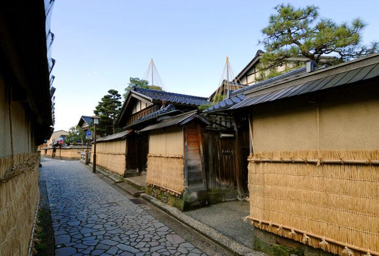 長町武家屋敷跡界隈(写真提供 金沢市)