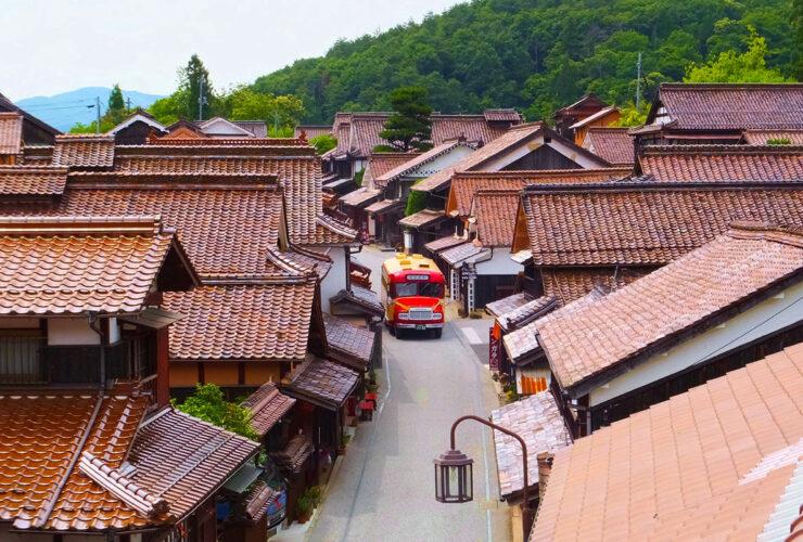 吹屋ふるさと村の町並み1 ©岡山県観光連盟